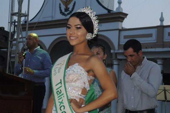 Jessamy Triana Uscanga es Miss Earth Tlalixcoyan 2020