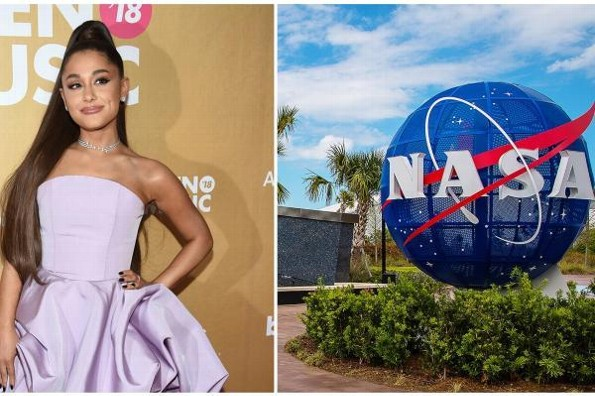 La NASA utiliza una canción de Ariana Grande para promocionar sus misiones espaciales #VIDEO