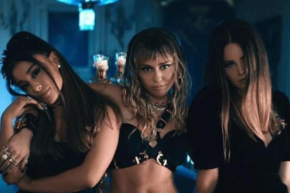 Ariana Grande, Miley Cyrus y Lana del Rey estrenan ´Don´t Call me Angel´ #VIDEO