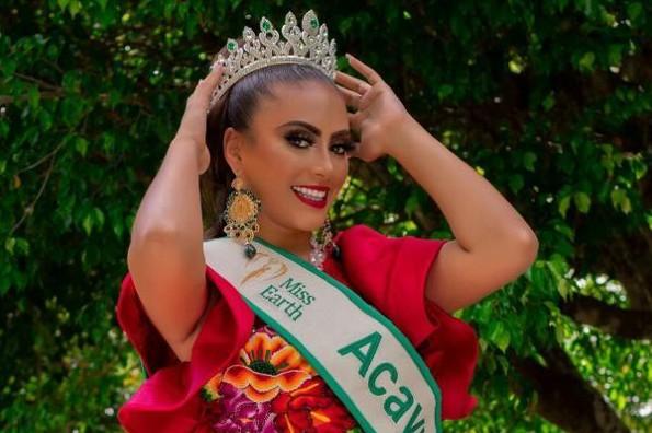 Aliné Cabrera Pérez es Miss Earth Acayucan 2020