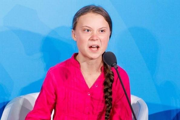 Greta Thunberg es la