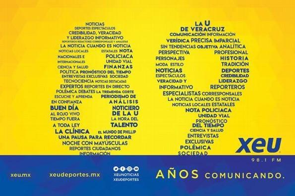 XEU Noticias celebra su aniversario número 89 #FOTO