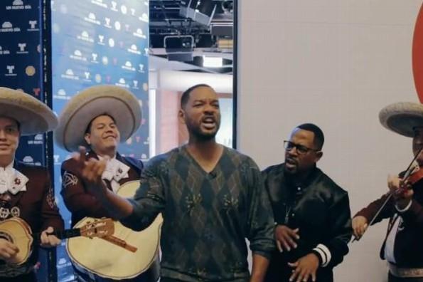 Will Smith canta con mariachi