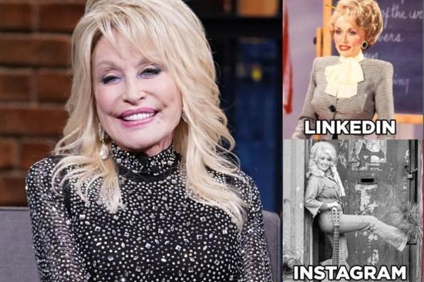 Dolly Parton crea su propio reto #FOTOS