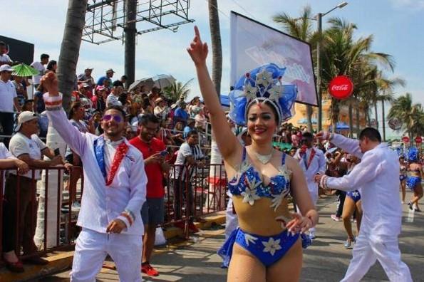 Acceso a coronaciones y masivos del Carnaval de Veracruz serán gratis