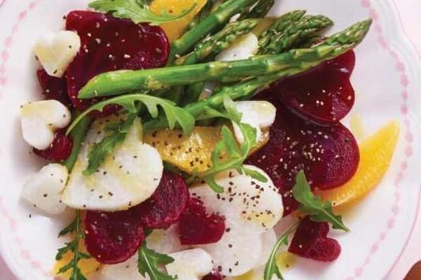 Receta de hoy: Ensalada de betabel y jícama