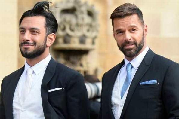 Ricky Martin rapa tiernamente a su esposo Jwan Yosef (+video/fotos)