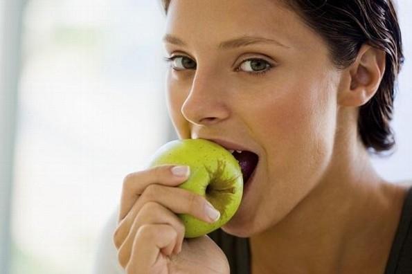 ¿Kilitos de más por cuarenta? Con manzanas recupera tu peso