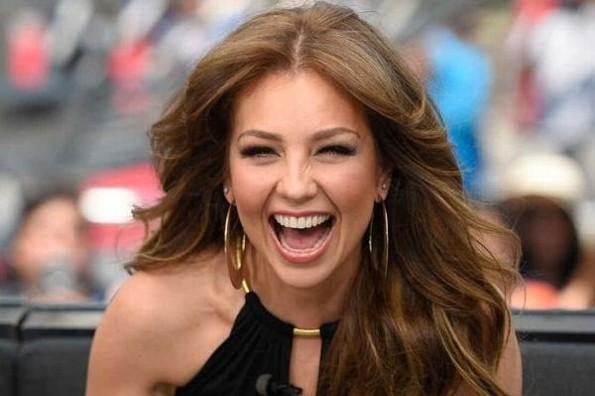 Thalía no descarta cantar canciones cristianas