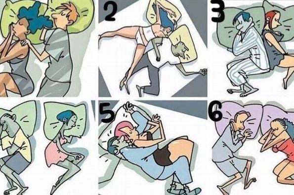 La forma de dormir con tu pareja revela cómo es la relación