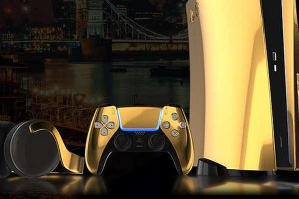 Alistan el lanzamiento de PlayStation 5 en oro de 24 kilates