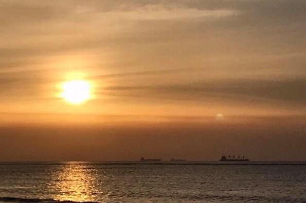Hoy jueves día cálido en Veracruz/Boca del Río, por la noche podría llover