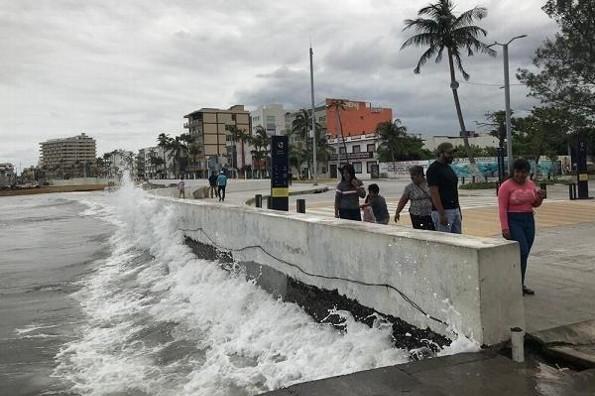 Continuarán las lluvias nocturnas y habrá norte en Veracruz
