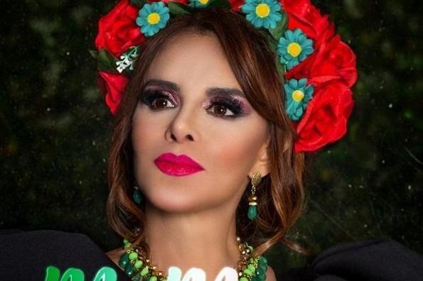 Presenta Lucía Méndez el estreno de su nueva canción
