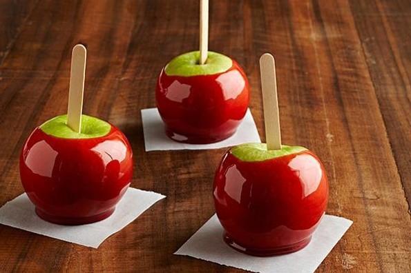 Receta de hoy: Manzanas acarameladas