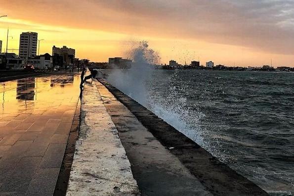Día fresco para hoy en Veracruz, continuarán los vientos del norte