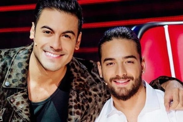 Carlos Rivera y Maluma le entran al género ránchero (+video)