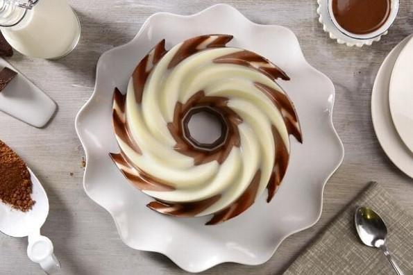 Receta de hoy: Gelatina de chocolate de mesa