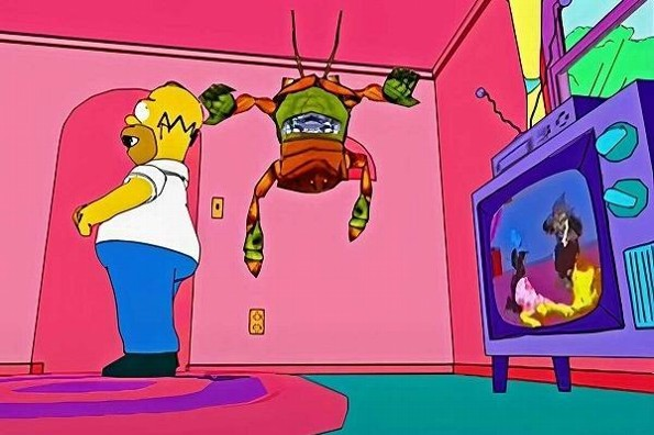 Hallan 20 años después demo de un videojuego inédito de The Simpsons (+video)