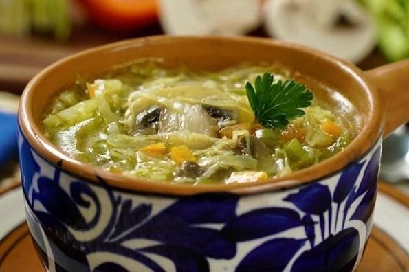 Receta de hoy: Sopa de col para dieta