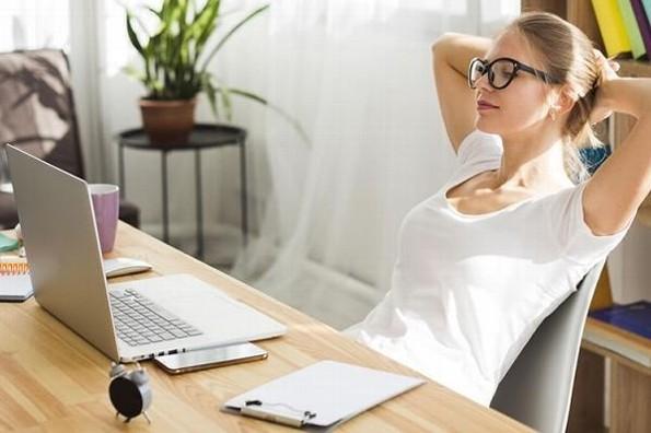 Errores de postura durante el home office