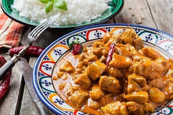 Receta de hoy: Pollo al curry