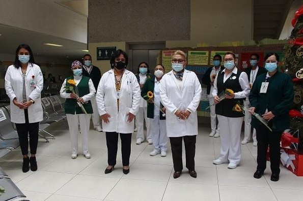 Conmemora y reconoce IMSS Veracruz al personal de Enfermería