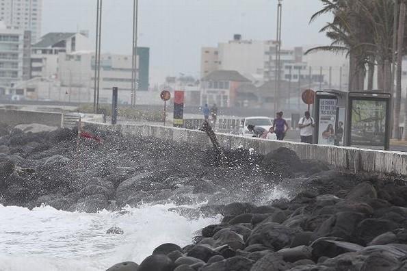 Hoy día fresco a frío en Veracruz; continuará el norte y mañana se reintensificará