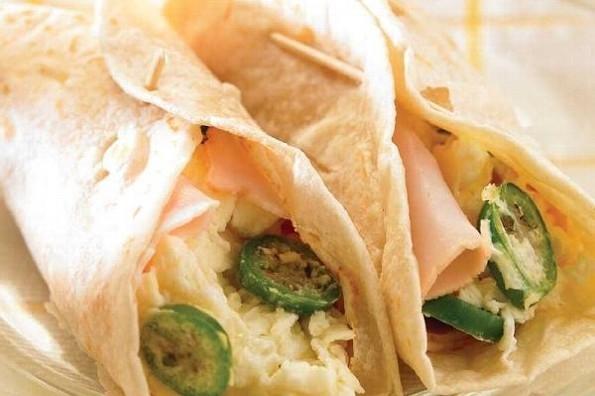 Receta de hoy: Burritos ligeros para cenar