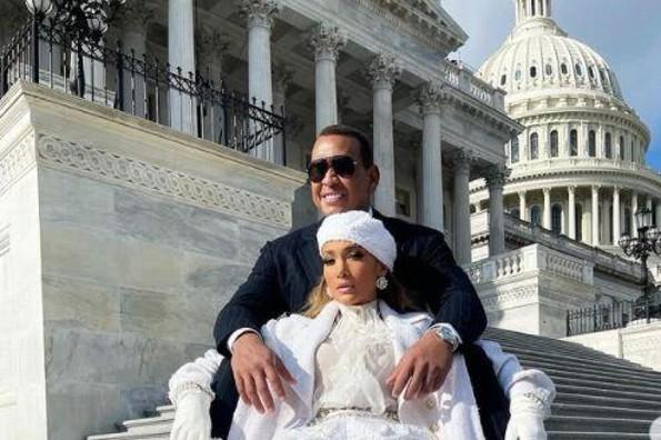 El poderoso mensaje de JLo y Lady Gaga desde Washington