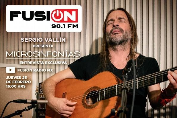 Sergio Vallín, integrante de Maná, presenta Microsinfonías