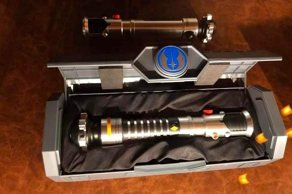 Disney patentó sable láser como el de Star Wars; pronto estará a la venta