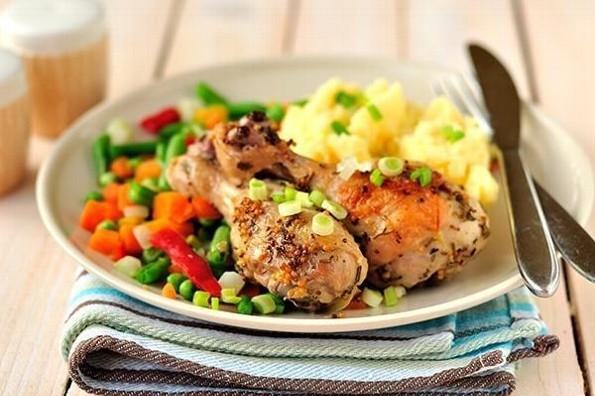 Receta de hoy: Pollo a la jardinera