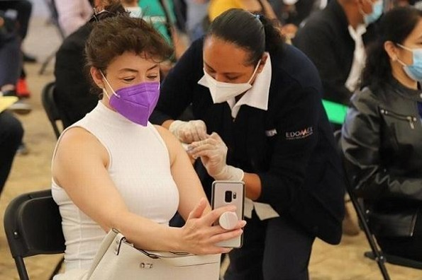 Anuncian segunda dosis de vacuna contra COVID de 50-59 años en Puerto de Veracruz