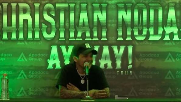 ¡Christian Nodal habló sobre el tatuaje de Lupillo Rivera!