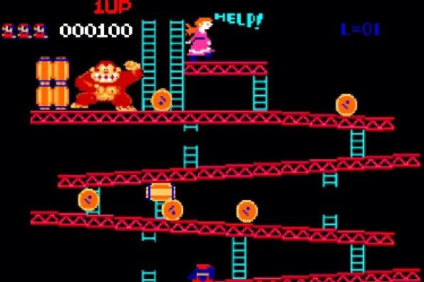 Donkey Kong cumple hoy 40 años.