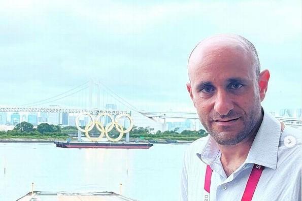 Alberto Lati cautivó con su narración de la inauguración de Tokio 2020