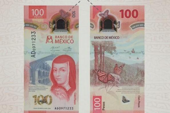 Reconocen billete de 100 pesos mexicanos como el mejor del mundo
