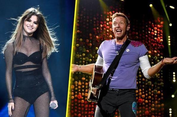 Selena Gómez y Coldplay unen talentos en