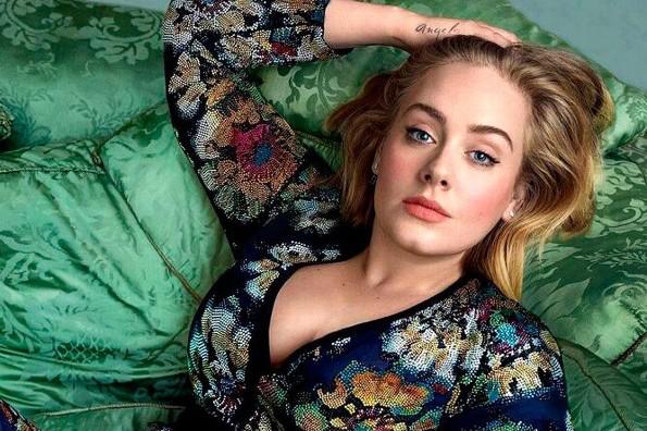 Adele revela que se reconcilió con su padre antes de su muerte